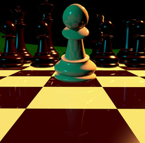 Chessheart. A 3D, and Animation project by Mauro Martínez López - 22-07-2016