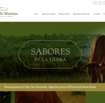 Web corporativa Restaurantes Fogón de Mariana. A Marketing, Web Design, and Web Development project by Chelo Fernández Díaz - 04-08-2016
