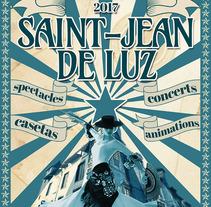 Cartel Festival Andaluz de San Juan De Luz (propuesta). A Graphic Design project by José Luis Cid         - 07.08.2016