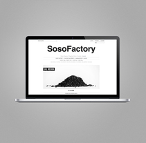 Sososhop.com. Un proyecto de Diseño gráfico y Desarrollo Web de Estudio Maba  - 10-08-2016