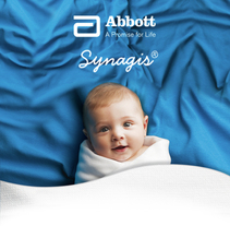Synagis // Abbott. A Photograph, Art Direction, Design Management, and Graphic Design project by Alejandra Iglesias Lourés         - 23.08.2016