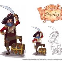 Porfolio. A Illustration, Character Design, Game Design, Set Design, and Comic project by Rafael González         - 25.08.2016