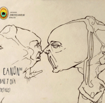 El Cánon de Ortegamun. Serie de dibujos a tinta china sobre papel.. Un proyecto de Ilustración, Diseño de personajes, Bellas Artes y Pintura de Juan Miguel Ortega Muñoz - 26-08-2016