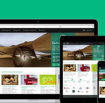 Spoonit - Diseño y maquetación de portal de crowdfounding. A Design, UI / UX, Graphic Design, and Web Design project by Nuria Muñoz         - 28.08.2016