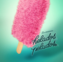 Helados Peludos. A 3D, T, and pograph project by Adrián Gómez         - 16.01.2017