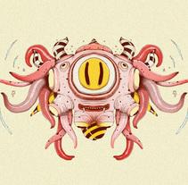 Totems. Un proyecto de Dirección de arte, Diseño e Ilustración de Óscar Lloréns - 31.08.2016