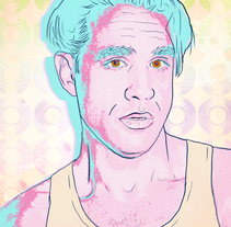 Bobby Cannavale - Vinyl. A Graphic Design&Illustration project by Andre Filipe Sousa - Sep 02 2016 12:00 AM
