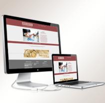 Página web creada para la empresa BOREALPRECISION.. Un proyecto de Diseño Web de Emilio Jesús Pérez Pileta         - 14.10.2015