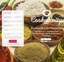 Cookmunity. A Advertising, Photograph, and Post-Production project by víctor illera         - 04.09.2016