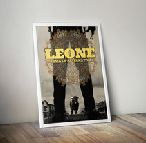 Diseño cartel concierto Leone. A Graphic Design project by Emilio Gutierrez Rodriguez         - 05.09.2014