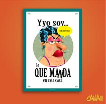 Ilustraciones para póster en técnica vectorial . Um projeto de Ilustração de Carlos  Nava         - 05.09.2016