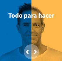 Santalucía pensiones y ahorro. Um projeto de Web design de Ana Porras         - 11.09.2016