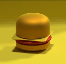 Mi Proyecto del curso: Introducción al Diseño y Modelado 3D con Blender. Um projeto de 3D de Hector Carrasquilla - 14-09-2016