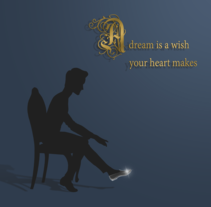 A dream is a wish your heart makes. Un proyecto de Ilustración de Parodi Paradise  - 15-09-2016