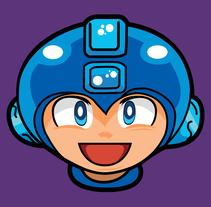 Megaman. Un proyecto de Ilustración de Guillermo Vega Pérez         - 19.09.2016