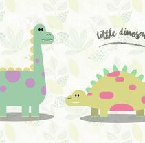 Little Dinosaur. Un proyecto de Diseño e Ilustración de Sonia Medina Malón         - 20.09.2016