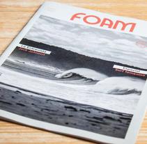 Foam Magazine diseño editorial. Un proyecto de Diseño editorial, Diseño gráfico, Diseño interactivo y Diseño de producto de Borja Espasa         - 19.06.2015
