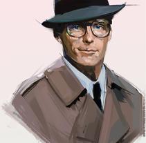 Clark Kent / Christopher Reeve / Tribute. Un proyecto de Ilustración y Comic de Ismael Alabado Rodriguez - 24-09-2016