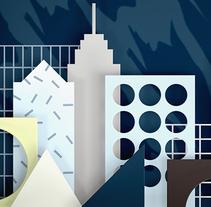 Alcatel IDOL4. Un proyecto de Diseño, Ilustración, Publicidad, Dirección de arte y Diseño gráfico de Vasty  - 25-06-2016