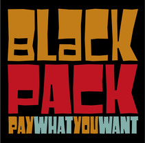 Black Pack Font. A T, and pograph project by Juanjo López - Sep 27 2016 12:00 AM