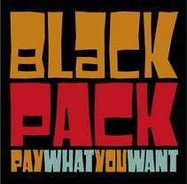 Black Pack Font. Un proyecto de Tipografía de Juanjo López - Martes, 27 de septiembre de 2016 00:00:00 +0200