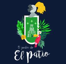 El Jardín del Patio. A Illustration, Br, ing&Identit project by Nerea Martínez Sánchez - 31-08-2016