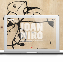 MIRÓ. Un proyecto de Animación, Diseño interactivo y Diseño Web de Alberto Luque - 29-09-2016