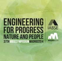 IABSE SYMPOSIUM. A Advertising, Art Direction, and Graphic Design project by *María Criado Crespo* - 03-09-2014