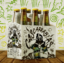 CERVEZA CASCARRABIAS LAGER. A Design, Illustration, Br, ing, Identit, Character Design, Packaging, and Product Design project by Eric Morales         - 07.04.2018