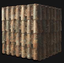 PBR Procedural Roof Tiles. Un proyecto de 3D de Carlos Sánchez Muñoz         - 04.10.2016