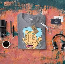-Stilo Flaco- New t-shirt design. TRXP GXMX.. Un proyecto de Ilustración, Diseño de vestuario, Moda y Diseño gráfico de Chete Sanchez - 04-10-2016