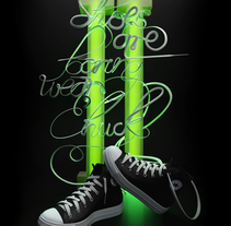 Shoes are bouring wear chuck!  Converse. A Design, Illustration, 3D, Art Direction, Fashion, Lighting Design, and Marketing project by victor miguel peñas cogolludo - 05-10-2016
