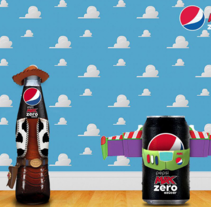 Toy Story for Pepsi España. A Design project by Mackerita         - 06.10.2016
