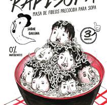 RAPISOPA. Un proyecto de Diseño e Ilustración de nori kobayashi Seki         - 06.10.2016