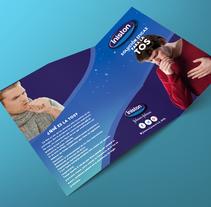 Diseño de un folleto, un tríptico para Inistón.. A Graphic Design project by pilar vera marañón         - 08.11.2016