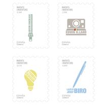Colección Sellos de inventores. Un proyecto de Diseño gráfico de Marta Alvarez         - 11.10.2016