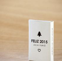 Obsequio Navideño 2015. Um projeto de Design, Fotografia e Artesanato de Julia Furió Quesada         - 17.10.2016