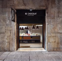 Be Chocolate Gotic / Barcelona Colaboration with Zazurca&Co. A Design, 3D, Design Management, Interior Architecture, Interior Design, Lighting Design, and Product Design project by Alexandra Leira Armengol - 13-06-2015