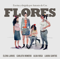 Flores. A Art Direction, and Graphic Design project by Pablo Caravaca - 19-04-2015