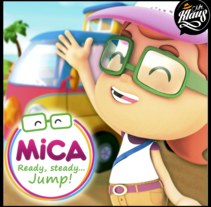 MICA. READY, STEADY, JUMP (3D animation TV serie). A 3D, and Animation project by Mr. Klaus Studio         - 21.10.2016