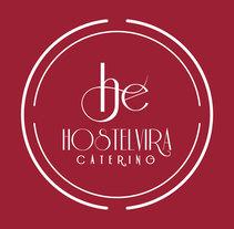 Actualización logo y papelería Catering Hostelvira. Um projeto de Br e ing e Identidade de María González Sánchez         - 14.10.2015