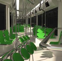 metro. A 3D, Architecture&Interior Architecture project by Alejandro Guerra Herrera         - 25.10.2016