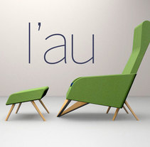 L'au chaise lounge. A Design, and Product Design project by Andrés Merizalde - 26-10-2016