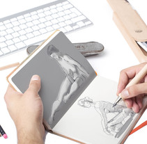 Ilustraciones a lápiz montadas en Mockups. A Illustration, and Graphic Design project by Sara Cabiedas Jiménez - 27-10-2016