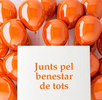 Salut Mental Catalunya . Un proyecto de Diseño, Br e ing e Identidad de mònica ih - 30-10-2016