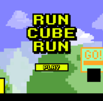 Videojuego Run Cube Run. A Game Design, and Graphic Design project by David Murillo         - 01.11.2016