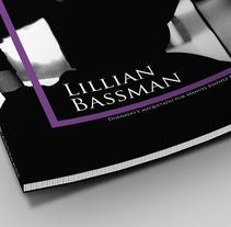 Lillian Bassman Editorial. A Editorial Design, and Graphic Design project by Manuel Jiménez         - 06.11.2016