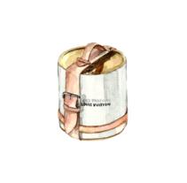 Louis Vuitton para Vanity Fair Mx. Un proyecto de Pintura de Ana Victoria Calderon - Martes, 08 de noviembre de 2016 00:00:00 +0100