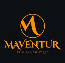 Logotipo Maventur. Um projeto de Br, ing e Identidade, Design gráfico e Desenvolvimento Web de Colorios Publicidad - 07-11-2016
