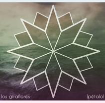 Portadas Los Giraflores - Pétalo. Um projeto de Design, Ilustração, Publicidade, Música e Áudio, Direção de arte, Packaging e Design de produtos de José Manuel Soriano López         - 17.09.2016